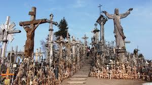 Kryziu Kalnas Bukit Sejuta Salib Lithuania